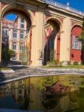 Το Palazzo Reale είναι ένα μέγαρο και ένα Εθνικό Μουσείο κραμπολάχανου μέσω Balbi στη Γένοβα Ιταλία Στοκ φωτογραφία με δικαίωμα ελεύθερης χρήσης