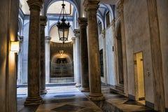 Το Palazzo Reale είναι ένα μέγαρο και ένα Εθνικό Μουσείο κραμπολάχανου μέσω Balbi στη Γένοβα Ιταλία Στοκ εικόνες με δικαίωμα ελεύθερης χρήσης