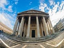 Το Pantheon, Παρίσι, Γαλλία. Στοκ εικόνες με δικαίωμα ελεύθερης χρήσης