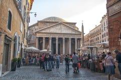Το Pantheon, Ρώμη Στοκ εικόνα με δικαίωμα ελεύθερης χρήσης