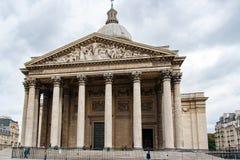 Το Pantheon στην πόλη του Παρισιού, Γαλλία στοκ φωτογραφία με δικαίωμα ελεύθερης χρήσης