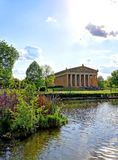 Το Parthenon στο Νάσβιλ, Τένεσι Στοκ φωτογραφίες με δικαίωμα ελεύθερης χρήσης