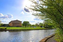 Το Parthenon στο Νάσβιλ, Τένεσι Στοκ φωτογραφία με δικαίωμα ελεύθερης χρήσης