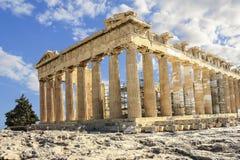 Το Parthenon της Αθήνας Στοκ Εικόνες