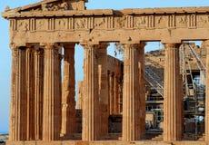 Το Parthenon Στοκ εικόνα με δικαίωμα ελεύθερης χρήσης