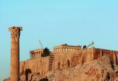 Το Parthenon Στοκ φωτογραφίες με δικαίωμα ελεύθερης χρήσης