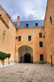 Patio του Alcazer, Segovia, Ισπανία Στοκ φωτογραφίες με δικαίωμα ελεύθερης χρήσης