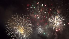 Το Pattaya Ταϊλάνδη-Μάιος, 24 2019 διεθνή πυροτεχνήματα παρουσιάζει φεστιβάλ το 2019 φιλμ μικρού μήκους