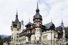 Το Peles Castle σε Sinaia, Ρουμανία Στοκ εικόνες με δικαίωμα ελεύθερης χρήσης