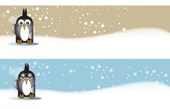 το penguine εμβλημάτων Στοκ Εικόνες