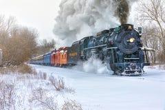 """Το Pere Marquette 1225 """"North Πολωνός Express† Στοκ Φωτογραφία"""