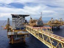 Το Platong 2 μελέτη ανάπτυξης αερίου, Ταϊλάνδη Στοκ Φωτογραφία