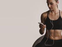 Το playlist workout μου Στοκ φωτογραφίες με δικαίωμα ελεύθερης χρήσης