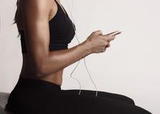 Το playlist workout μου Στοκ εικόνα με δικαίωμα ελεύθερης χρήσης