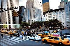 Το Plaza στην πόλη του Μανχάταν Νέα Υόρκη Στοκ φωτογραφία με δικαίωμα ελεύθερης χρήσης