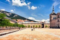 Το Plaza της Ισπανίας Όχι μακριά από τη Μαδρίτη Στοκ Εικόνες