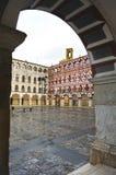 Το Plaza Alta Badajoz, Εστρεμαδούρα, Ισπανία Στοκ εικόνα με δικαίωμα ελεύθερης χρήσης