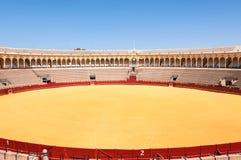 Το Plaza de toros - χώρος ταυρομαχίας στη Σεβίλη Στοκ Φωτογραφία