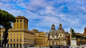 Το Plazza Venezia Στοκ Εικόνες