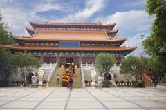 Το po Lin μοναστήρι στο νησί Lantau Χογκ Κογκ Στοκ Φωτογραφία