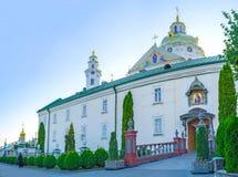 Το Pochayiv Lavra σύνθετο Στοκ φωτογραφία με δικαίωμα ελεύθερης χρήσης