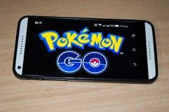 Το Pokemon πηγαίνει παιχνίδι Στοκ Εικόνες
