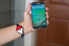 Το Pokemon πηγαίνει συν Στοκ φωτογραφίες με δικαίωμα ελεύθερης χρήσης
