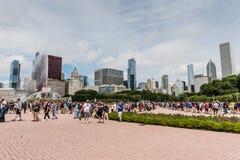 Το Pokemon πηγαίνει φεστιβάλ - Σικάγο, IL Στοκ Φωτογραφία