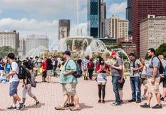 Το Pokemon πηγαίνει φεστιβάλ - Σικάγο, IL Στοκ φωτογραφίες με δικαίωμα ελεύθερης χρήσης