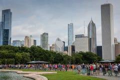 Το Pokemon πηγαίνει φεστιβάλ - Σικάγο, IL Στοκ φωτογραφία με δικαίωμα ελεύθερης χρήσης