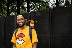 Το Pokemon πηγαίνει φεστιβάλ - Σικάγο, IL Στοκ Φωτογραφίες