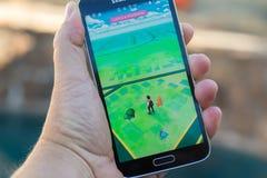 Το Pokemon πηγαίνει Στοκ εικόνα με δικαίωμα ελεύθερης χρήσης