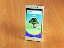 Το Pokemon πηγαίνει Στοκ εικόνες με δικαίωμα ελεύθερης χρήσης