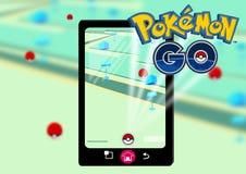Το Pokemon πηγαίνει διανυσματική απεικόνιση