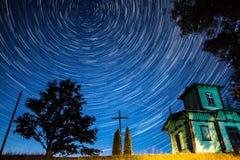 Το Polaris είναι το βόρειο αστέρι Στοκ Εικόνες