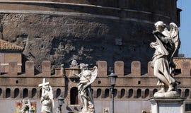 Το Ponte Sant ` Angelo στη Ρώμη Στοκ Φωτογραφία