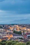 Το Ponte Vecchio (παλαιά γέφυρα) στη Φλωρεντία, Ιταλία. Στοκ εικόνα με δικαίωμα ελεύθερης χρήσης