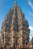 Το Prambanan ή Candi Rara Jonggrang είναι ένας ινδός ναός στην Ιάβα Ινδονησία Στοκ Εικόνες