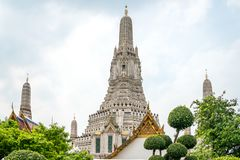 Το Prangs του ναού Wat Arun Ταϊλάνδη στοκ φωτογραφίες με δικαίωμα ελεύθερης χρήσης