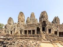 Το Prasat Bayon, Angkor Thom, Siem συγκεντρώνει, Καμπότζη Στοκ εικόνες με δικαίωμα ελεύθερης χρήσης