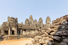 Το Prasat Bayon, Angkor Thom, Siem συγκεντρώνει, Καμπότζη Στοκ Εικόνες