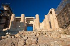 Το Propylaea. Αθήνα, Ελλάδα. στοκ εικόνα με δικαίωμα ελεύθερης χρήσης