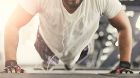 Το Pushup Workout απόθεμα βίντεο