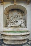 Το Quattro Fontane (οι τέσσερις πηγές) - Ρώμη, Ιταλία Στοκ Φωτογραφία