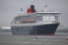 Το Queen Mary 2 Στοκ εικόνες με δικαίωμα ελεύθερης χρήσης