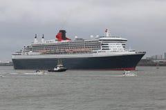 Το Queen Mary 2 Στοκ Φωτογραφία