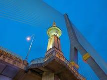 Το Rama VIII γέφυρα καλωδίων Στοκ Φωτογραφία