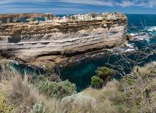 Το Razorback, ένας σχηματισμός βράχου στην άποψη φαραγγιών Ard λιμνών Στοκ φωτογραφία με δικαίωμα ελεύθερης χρήσης