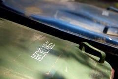 Το Recyclables μπορεί καπάκι Στοκ Εικόνα