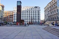 Το Reina Museo μουσείο της Sofia στη Μαδρίτη Στοκ Φωτογραφίες
